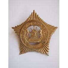 Royal Lesotho Mounted Police Cap Badge