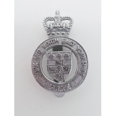 York and North East Yorkshire Police Cap Badge - Queen's Crown