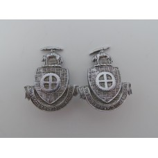 Pair of Dewsbury Borough Police Collar Badges