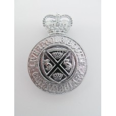 Liverpool & Bootle Constabulary Cap Badge - Queen's Crown