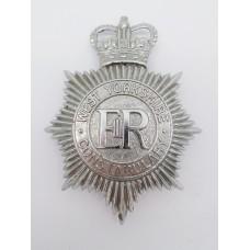 West Yorkshire Constabulary Helmet Plate - Queen's Crown