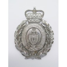 Dewsbury Borough Police Helmet Plate (Wreath) - Queen's Crown