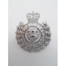 Leeds City Police Cap Badge (Wreath) - Queen's Crown