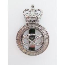 Staffordshire Police Cap Badge - Queen's Crown