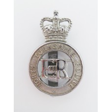 North Yorkshire Police Cap Badge - Queen's Crown