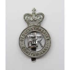 Gloucestershire Constabulary Cap Badge - Queen's Crown