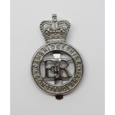 Cambridgeshire Constabulary Cap Badge - Queen's Crown