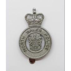 North Wales Police Cap Badge - Queen's Crown