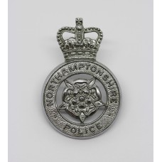 Northamptonshire Police Cap Badge - Queen's Crown