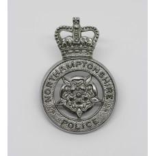 Northamptonshire Police Cap Badge - Queen's Crown