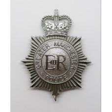 Greater Manchester Police Helmet Plate - Queen's Crown
