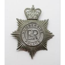 Humberside Police Helmet Plate - Queen's Crown