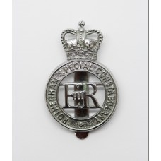 Rotherham Special Constabulary Cap Badge - Queen's Crown