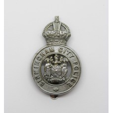 Birmingham City Police Cap Badge - King's Crown