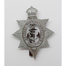 Belfast Harbour Police Cap Badge - King's Crown