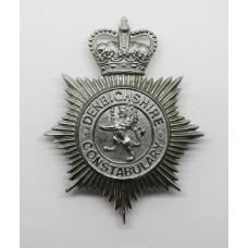 Denbighshire Constabulary Helmet Plate - Queen's Crown