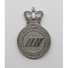 British Airports Authority Constabulary Cap Badge - Queen's Crown