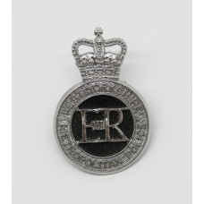 West Yorkshire Metropolitan Police Cap Badge - Queen's Crown