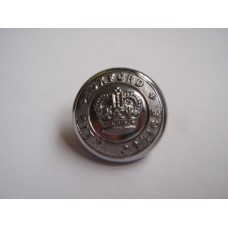 Oxford City Police Button - Queen's Crown