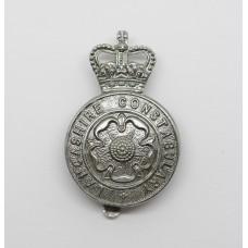 Lancashire Constabulary Cap Badge - Queen's Crown