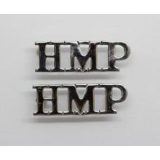 Pair of Prison Service (H.M.P.) Shoulder Titles