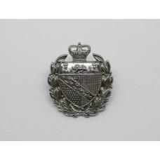 Norfolk Constabulary Collar Badge - Queen's Crown