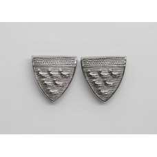 Pair of West Sussex Constabulary Collar Badges