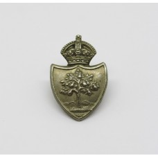 Worcestershire Constabulary Collar Badge - King's Crown