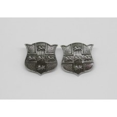 Pair of York City Police Collar Badges