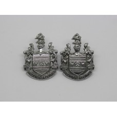 Pair of Eastbourne Borough Police Collar Badges