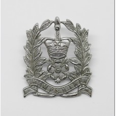Hampshire Constabulary Constable's Cap Badge - Queen's Crown