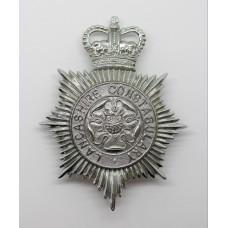 Lancashire Constabulary Helmet Plate - Queen's Crown