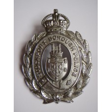 Stockport Borough Police Helmet Plate - King's Crown
