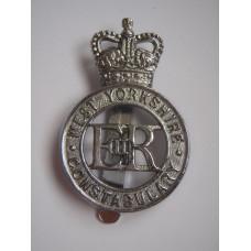 West Yorkshire Constabulary Cap Badge - Queen's Crown
