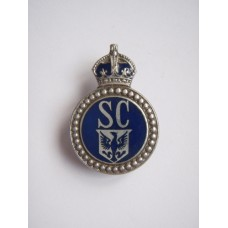 East Riding Special Constabulary Lapel Badge - King's Crown