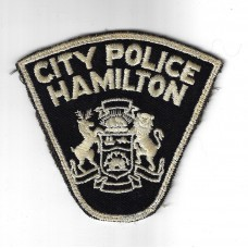 United States City Police Hamilton (Ohio) Cloth Patch