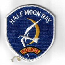 United States Half Moon Bay (California) Police Cloth Patch