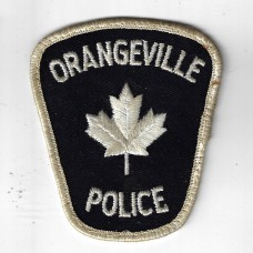 Canadian Orangeville Police (Ontario) Cloth Patch