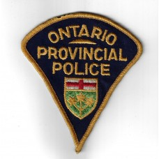 United States Ontario Provincial Police Cloth Patch