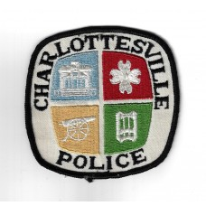 United States Charlottesville Police Cloth Patch