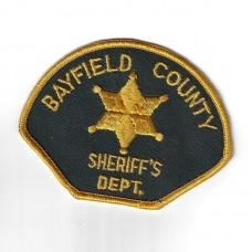 United States Bayfield County Sheriff's Dept. Police Cloth Patch