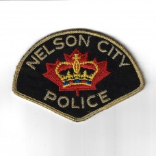 Canadian Nelson City Police Cloth Patch