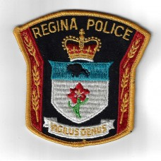Canadian Regina Police Cloth Patch