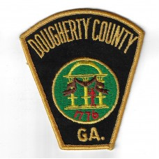 United States Dougherty County GA. Police Cloth Patch