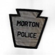United States Morton Police Cloth Patch