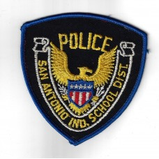 United States San Antonio Ind. School Dist. Police Cloth Patch