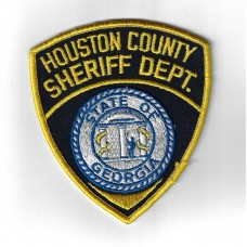 United States Houston County Sheriff Dept. State of Georgia Police Cloth Patch