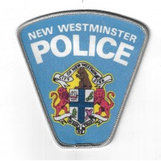 Canadian New Westminster Police Cloth Patch