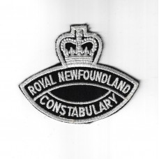 Canadian Royal Newfoundland Constabulary Police Cloth Patch - Que