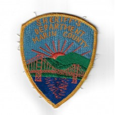 United States Marin County California Sheriff's Department Cloth Patch